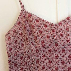 Red Flower Sun Dress